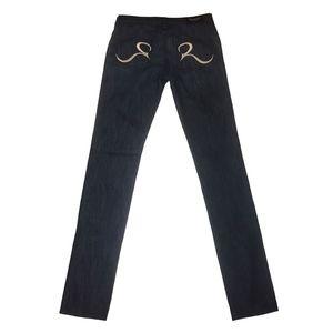 Rock & Republic Berlin Skinny Blue Jean Size 27